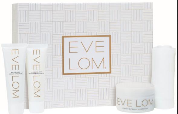 全球包邮【Eve Lom】豪华礼盒50%OFF+折上18%OFF只需£55.76