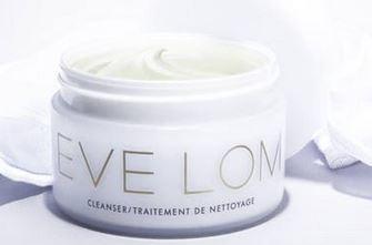 明星产品【Eve Lom】全线折上18%OFF+满60镑送16镑的Eve Lom唇膏