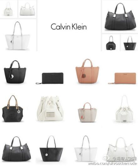 【Calvin Klein】新款上线,手袋配件全线40%OFF