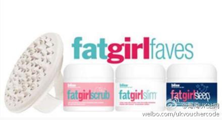 【Bliss】Fat Girl纤体瘦身霜4件套3FOR2+折上25%OFF后一套只需16镑