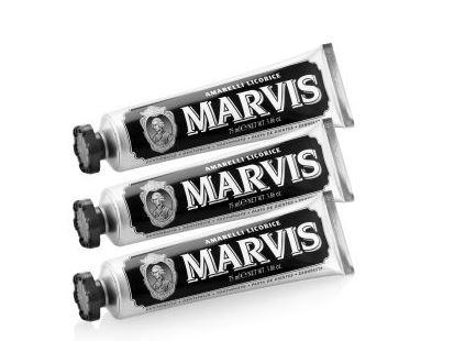 Marvis玛尔斯Amarelli Licorice 黑色甘草薄荷牙膏20%OFF