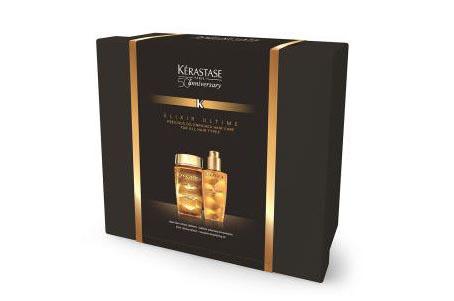 【Kerastase】卡诗50周年礼盒 双重菁纯洗发水+金油套装 原价55镑折上20%OFF只需£33