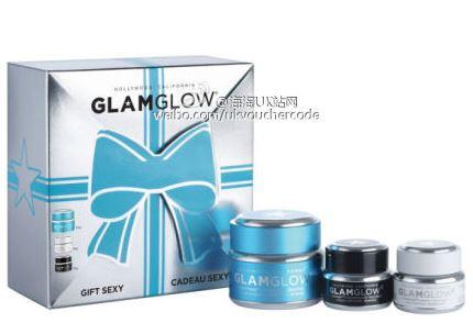 【GLAMGLOW发光面膜】礼盒装5折再减5镑只需£44.99