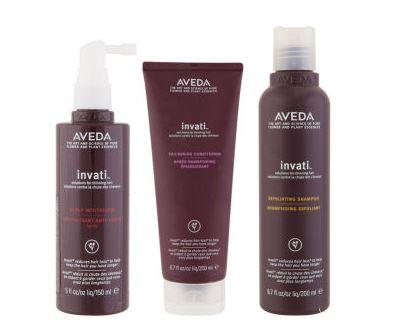 【Aveda】Invati Trio防脱发再生系列三件套20%OFF+折上20%OFF只需57镑~+送旅行装小样
