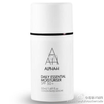 【Alpha-H】Daily Essential Moisturiser SPF 50+日常保湿防晒霜30%OFF