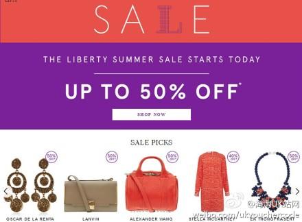 【Liberty】官网秋季上新,现在满150镑减30镑