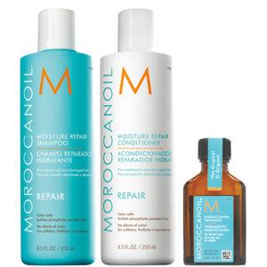 【Moroccanoil】摩洛哥Moisture Repair Gift Set保湿修复礼品套装25%OFF