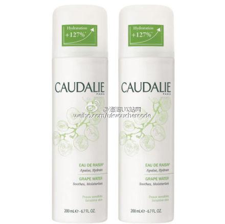 【Caudalie】duo grape water欧缇丽葡萄水活性喷雾双瓶装特卖折后1瓶只需5镑多