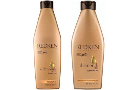 【Redken】Diamond Oil Duo钻石精油洗护套装仅£15.45