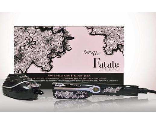 【巴黎欧莱雅Steampod蒸汽护发仪】新上 Fatale限量版特卖22%OFF只需124.95镑~+送16.5镑他家的顺发精华