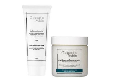 【Christophe Robin】海盐洗发膏+保湿洗发膏套装直减5镑+3for2,买2送1,一套只需36.67镑