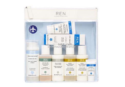 【REN】超值8件套装折上20%OFF+满65镑送MONU完美肌肤修护霜50ml
