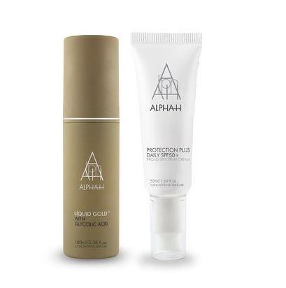 【Alpha-H】价值71镑液体黄金+防晒日霜套组只售42镑 + 限时25%OFF只需£31.5+满70镑送美妆礼包