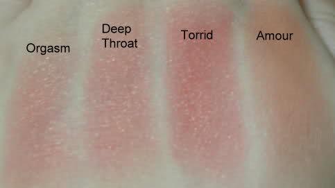 【涨姿势】NARS的腮红全色系图解