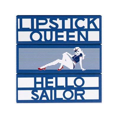 【Lipstick Queen】水兵蓝限量款唇膏25% OFF+满80镑送Ole Henriksen套装+送MONU套装
