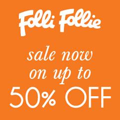 【Folli Follie】芙丽芙丽官网春季 Sale,全部30% OFF,最多40% – 65% OFF