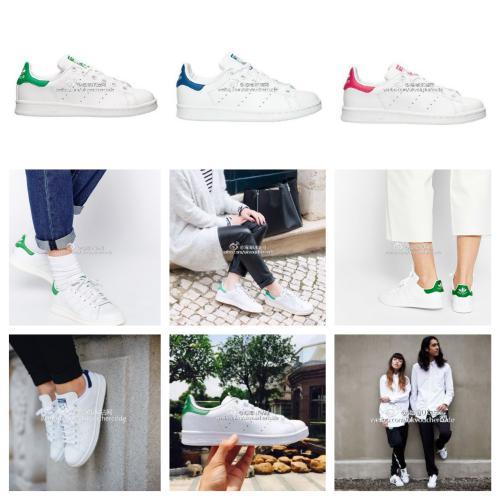 【Adidas Stan Smith】三叶草经典小绿标直减10镑