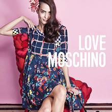 【Love Moschino】米兰时尚怪诞歌剧款女士皮革手提袋40%OFF+折上10%OFF