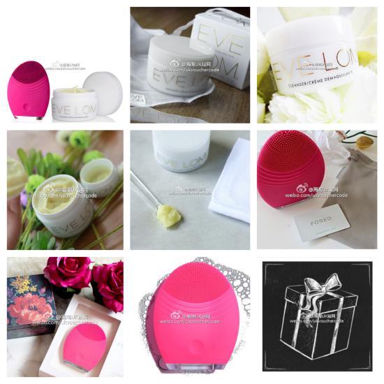 【FOREO & EVE LOM】组合清洁套装30%OFF~只需£163.8+送美妆礼包
