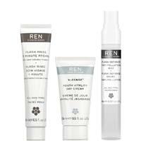 【REN】1分钟焕肤面膜小套装30%OFF,折后仅9.1镑