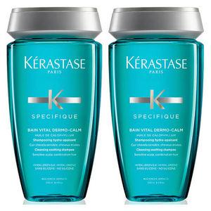 【Kerastase】卡诗Dermo Calm舒缓抗敏丝盈洗发水双瓶装30%OFF+折上10%OFF+送正装洗发水