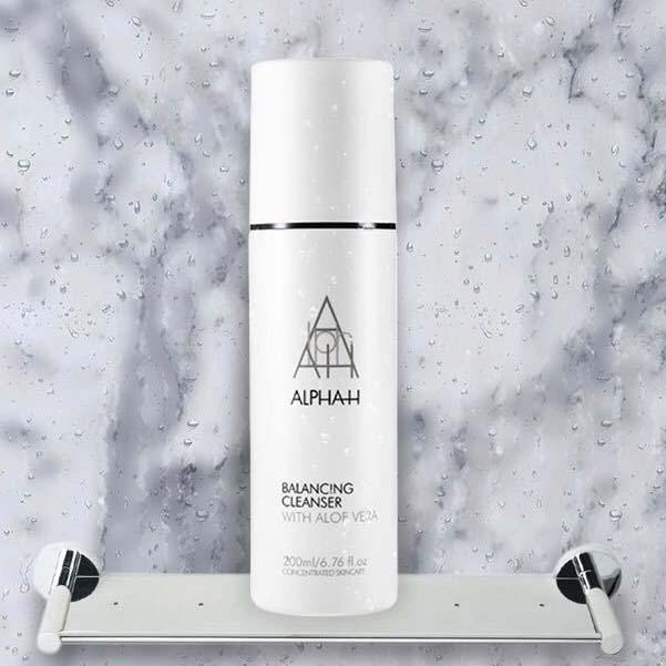 【ALPHA-H】 平衡洁面乳(BALANCING CLEANSER WITH ALOE VERA )22% OFF
