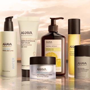 【AHAVA】天然死海矿物护肤品牌全线25%OFF