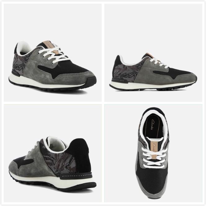 【Clarks】Floura 17新款复古跑步鞋20%OFF~折后40镑