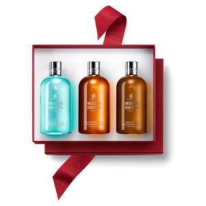【Molton Brown】摩顿布朗圣诞香水沐浴露300ml *3套装25% OFF+买俩再送1瓶30ml装