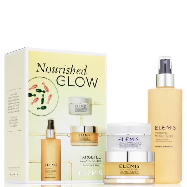 【Elemis】骨胶原卸妆、三重酵素洁面、细胞再生胶囊3件套仅40镑