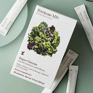 【Perricone MD】裴礼康全身调理套装SUPER GREENS超级绿果蔬补充剂3for2+折上10%OFF