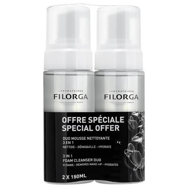 【Filorga】菲洛嘉泡沫洁面超值双瓶装买二送一,相当于33%OFF