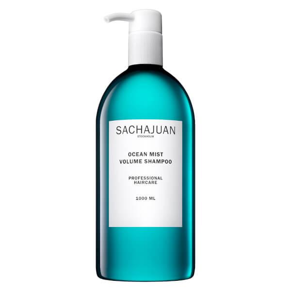 【Sachajuan】三茶官Ocean Mist蓝瓶海洋蓬松丰盈洗发水1000ml大瓶装30%OFF+赠品