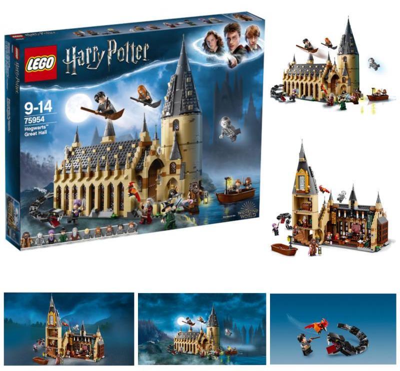 【Lego】乐高75954哈利波特· 霍格沃茨大礼堂折后只需74.99镑