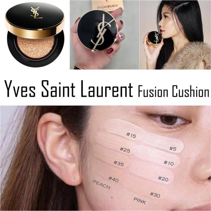 【YSL】Yves Saint Laurent YSL 圣罗兰恒久完美轻透保湿羽毛气垫20%OFF