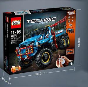 【Lego】乐高42070 全地形6×6卡车直降55镑