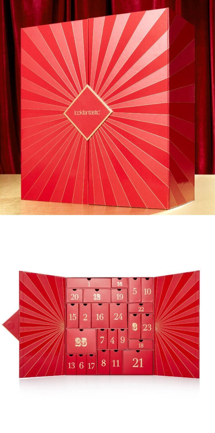 【Lookfantastic】圣诞日历25件产品只需RMB550