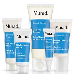 【Murad】慕拉祛痘全效护理五件套3for2+折上25%OFF,相当于5折