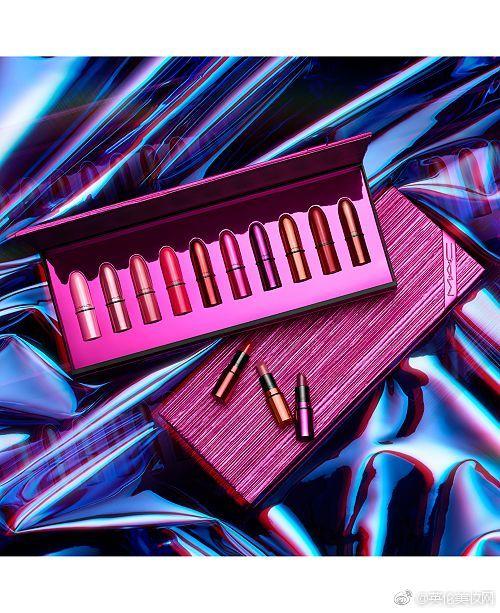 【MAC】圣诞唇膏套装 Shiny Pretty Things10支×1.7g大概RMB570元