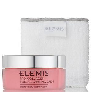 【Elemis】玫瑰骨胶原卸妆膏粉瓶30%OFF+套装赠品