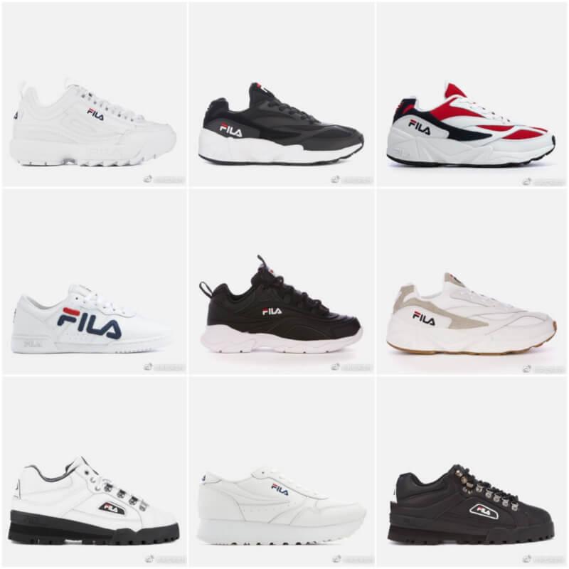 【Fila】老爹鞋20%OFF