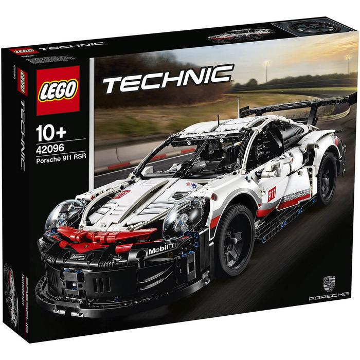 【LEGO】 乐高42096科技系列保时捷 911 RSR折后只需£104.99~大概RMB922