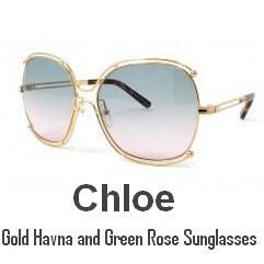 【Chloe】超高颜值春夏玫瑰金太阳镜全线3.7折+折上16%OFF
