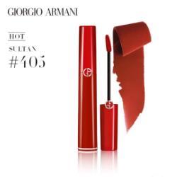 【Giorgio Armani】阿玛尼丝绒红管唇釉405补货
