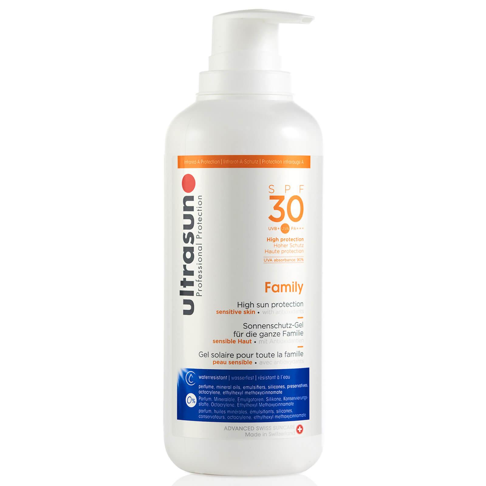 【Ultrasun】瑞士防晒霜SPF30大瓶装400ml现在40%OFF