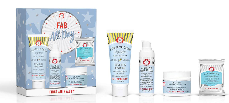 【First Aid Beauty】FAB 全天候护肤礼盒30%OFF+满40镑赠FAB排毒滋润三件套