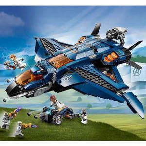 【Lego】乐高超级英雄系列复仇者联盟昆式战斗机76126决战版只需£64.99大概570